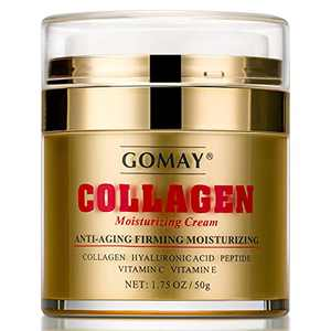 GOMAY Collagen Moisturizing Cream, Wrinkle Cream for Face, Face Cream for Anti-aging, Firming, Moisturizing