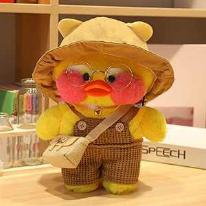 MOCOST Lalafanfan Plush Doll Cafe Mimi Stuffed Duck Plush Doll Duck Gift, 30 cm / 12 inch