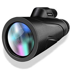 Monocular Telescope, 12X42 HD Spotting Scopes with Quick Smartphone Holder and Tripod, Waterproof Fog Clear FMC BAK4 for Bird Watching Hunting, Camping,Travelling, Hiking,Concert