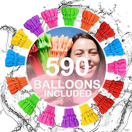 Water Balloons for Kids Boys & Girls Adults Easy Quick Fun Outdoor Summer Splash Party Backyard for Swimming Pool JDE9372671