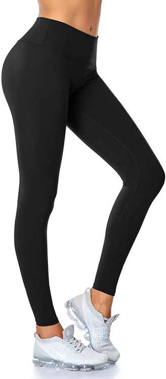 SIMIYA Yoga Pants High Waist Gym Leggings Women Sports Tights with Inner Pockets Workout Running Trousers