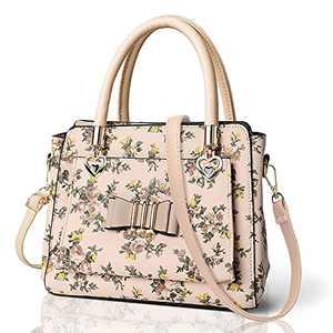ELDA Womens Purses and Handbags Small Top Handle Satchel Shoulder Bags Ladies Leather Totes