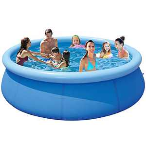 Above Ground Swimming Pools Clearance 12 x 30 - Big Pool Swimming Pool for Kids and Adults - Large Pool Inflatable Pools for Adults Outdoor Pools for Backyard