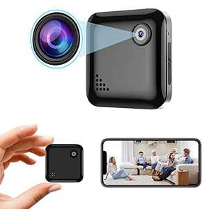 Spy Camera 1080P Hidden Camera - Portable Small HD Nanny Cam with Night Vision and Motion Detection - Hidden Spy Cam - Indoor Covert Security Camera for Home and Office - Surveillance Camera Full HD