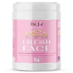 Dr. J's Natural Face Cleansing Wipes -Patented PCA Technology - All Natural Ingredients (1 Canister - 160 Ct Wipes)