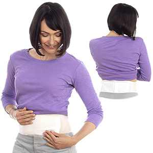 SunnyBay Pain Relief Heat Patches - 3 Patches - 1 Reusable Belts Hold 2 Hot Pads - Neck Shoulder Back Joint Pain Relief