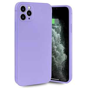 Compatible with iPhone 12 Pro Max Case Soft TPU Case fit iPhone 12 Pro Max Full Body Protection Shockproof Cover fit iPhone 12 Pro Max 6.7 inch (Pure Purple)