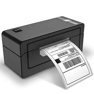 LUFIER Thermal Label Printer, 4x6 Desktop Shipping Label Barcode Printer with High-Speed 150mm/s for Shipping Postage Labeling Small Business Support Windows MacOS, Compatible with eBay Amazon Shopify