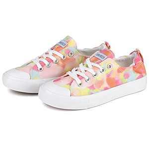 JENN ARDOR Womens Canvas Shoes Sneakers Low Top Tennis Shoes Casual Walking Shoes