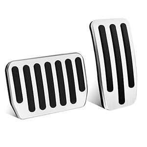BISOY Model 3 and Model Y Non-Slip Performance Pedal Cover high-Performance car Pedal Pads (a Set of Two)