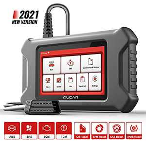 mucar OBD2 Scanner CS4 Car Code Readers & Scan Tools with ABS SRS Transmission, Check Engine Code Reader, Car Scanner Diagnostic for All Cars Including Oil EPB SAS TPMS 28 Reset Functions