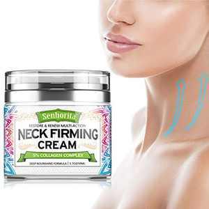 Neck Firming Cream,Neck Cream Anti Aging Moisturizer for Neck & Décolleté Saggy Neck Tightener & Double Chin Reducer Cream