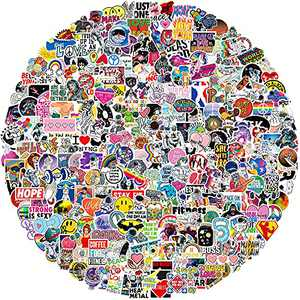 302 PCS Stickers Pack Cute Aesthetic Viny Waterproof Stickers, Stickers for Water Bottles, Laptop, Water Bottle, Phone, Skateboard Stickers for Teens Girls Kids