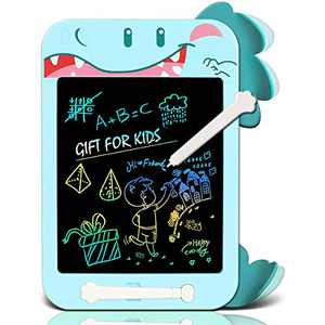 SEAFOND LCD Writing Tablet, 10.5 Inch Colorful Toddler Doodle Board Drawing Tablet, Erasable Reusable Electronic Drawing Pads, Educational and Learning Toy for 3-12 Years Old Boy and Girls
