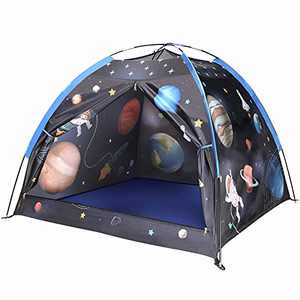 Play Tent for Kids, Space World Kids Play Tent, Kids Galaxy Dome Tent Playhouse for Boys and Girls, Tent for Kids Indoor and Outdoor Fun, Imaginative Gift for Kids