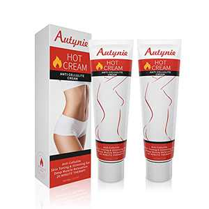 Slimming Cream 2 pack- Anti Cellulite Massage Hot Cream for Belly, Abdomen, Waist, Cellulite Remove cream and Stomach Fat burner for weigh loss- Firming Body Lotion for Women and Men