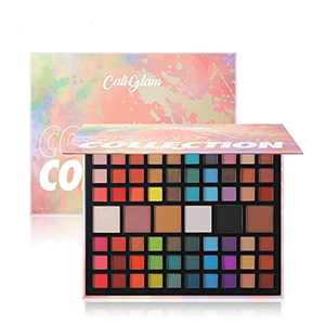 66 Colors Eyeshadow Palette Matte Shimmer Glitter Ultra Pigmented Makeup Eye Shadow Powder Waterproof Eye Shadow Palette Cosmetics Eye Shadow Kit Perfect For Woman & Girl