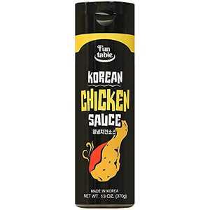 Funtable Korean Sauce Korean Chicken Sauce 13.05oz-Sweet Chili sauces for chicken nugget tender wings buldak and Korean food