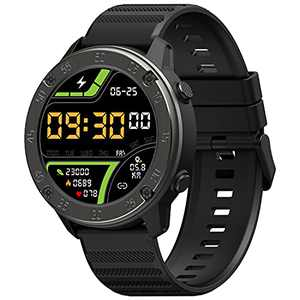 IOWODO Smart Watch for Android/iOS Phones Fitness Tracker Wristwatch with Heart Rate Monitor, Sleep Monitor Fitness Watch with Step Counter, 5 ATM Waterproof Sports Watch Smart Watch for Men and Women