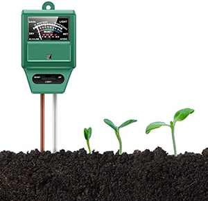 Yimusen Soil Moisture Meter, Soil PH Meter, Soil Test Kit for Indoor/Outdoor Plants, Soil Moisture/Light/pH Meter for Garden, Farm, Lawn, Indoor and Outdoor, No Battery Needed (Green)