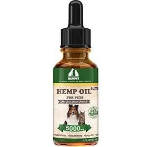 HAPIPET Hemp Oil for Pets,Dogs and Cats