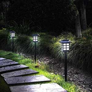 Otdair 12 Pack Solar Pathway Lights Outdoor, Waterproof Solar Garden Lights, Solar Yard Lights for Garden, Patio, Yard, Landscape, Pathway, Driveway, Lawn(Cold Light)