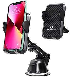 Car Phone Holder Mount, Phone Car Mount Universal Car Phone Hands Free Dashboard Windshield Air Vent Car Phone Holder Mount Compatible with iPhone 13 12 11 X Series, Galaxy Note/S21/20, Samsung