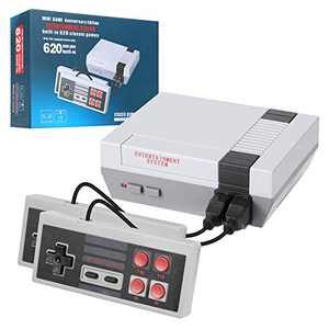 Classic Handheld Game Console, Classic Game Console Built-in 620 Game Handheld Game Console, Video Game Player Console