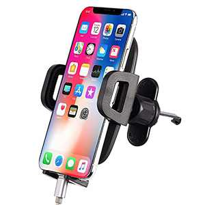 Air Vent Phone Holder for Car,Vehicle Phone Mount with Adjustable Clip, Cell Phone Mount Vent Compatible with 13/13 Pro/13 Pro Max 12/12 Pro/12 Pro Max/11 Pro Max/XR/XS Max/8 Plus,Galaxy S10/S10+
