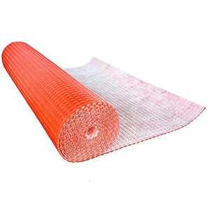 Waterproof Uncoupling Membrane, Tile Underlayment Membrane for Bathroom Floor, 150sq feet (3.3' x 46.2' ft)