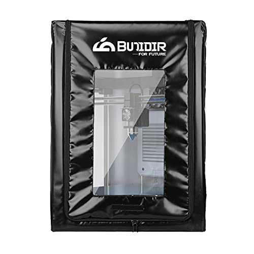 Bujidir 3D Printer Enclosure, Dustproof and Fireproof 3D Printer Accessories,3D Printer Tent for Ender 3/Ender 3 Pro/Ender 3 v2,Ender 5,CR-10 and Similar 3D FDM Printer