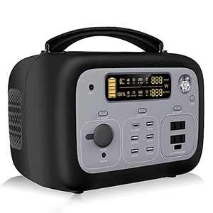 Portable Power Station OUKITEL P501 505Wh 140400mAh 150W Faster Recharg Portable Generator 500W AC Outlet,100W PD Solar Generator for Outdoor Camping Travel Hunting RV CPAP Home Emergency(Panels Not)
