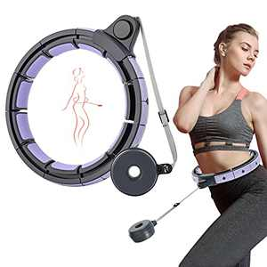 beLaxed Smart Weighted Hula Hoop for Adults - Plus Size Weight Loss Exercise Hoola Hoops - Home Workouts Equipment for Fitness - Christmas Thanksgiving Birthday Gifts for Women Men