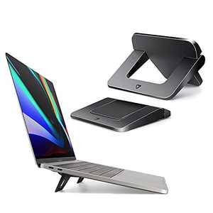 Keyboard Riser, Keyboard Stand for Desk,Laptop Stand for Desk, Portable Laptop Stand Compatible with MacBook Air Pro, Dell XPS, Lenovo, HP More(2 PCS)