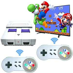 BLEBRDME Built-in 821 classic childhood games, Classic game console, retro game console, with 2 wireless controllers, 4K HDMI TV Output Game Consoles, The ideal gift for childhood memories