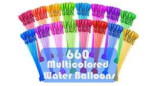 Water Balloons for Kids Boys & Girls Adults Summer Splash Party Easy Quick filling 660 balloons Fun Outdoor Backyard for Swimming Pool SK3581664