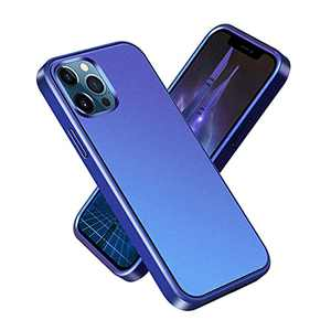 OTAO Only for iPhone 13 Pro [Matte Gradient Color] Case, [Military Grade Protection] [Solid PC+Soft TPU] Full Protection, [Anti-Fingerprint] [Anti-Slip] iPhone 13 Pro Phone Case Cover-Blue(6.1Inch)