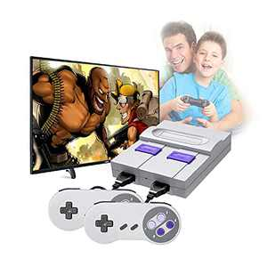 LARZN Built-in 821 Classic Games, Mini Retro Game Console, HDMI HD Output and 2 Classic Controller,Childhood Classic Games, Ideal Gift Choice for Children and Adults
