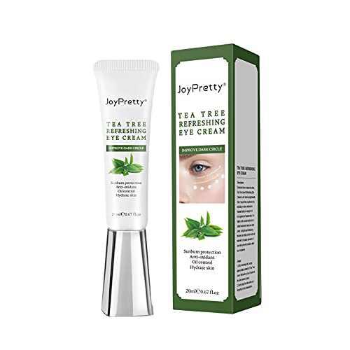 Eye Cream, Tea Tree Eye Cream, Highly Effective Cure For Dark Circles And Puffiness, Antioxidant Eye Cream, Reduce Fine Lines And Wrinkles - Moisturizing Eye Cream With Tea Tree Extract