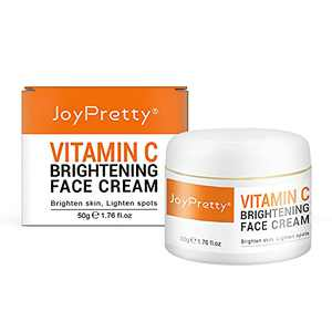 Vitamin C + Xanthan Gum Facial Moisturizer Facial Anti-Aging & Anti-Wrinkle Cream Helps smooth and plump fine lines and wrinkles to brighten youthful skin   1.76 oz / 50g