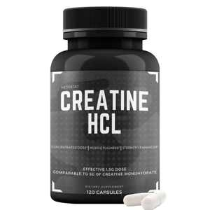 Creatine HCL Capsules Supplement for Men and Women…