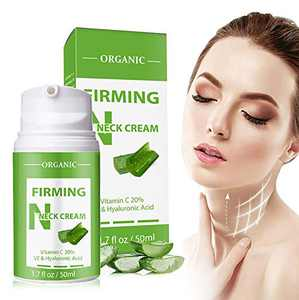Neck Firming Cream, Anti Aging Cream for Neck & Décolleté, Reuducing Neck Wrinkles, Firming Sagging Skin,1.7oz