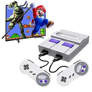Oucean Classic Game Console Built-in 821 Games HDMI HD Output Plug and Play, Retro Mini Game Console, Classic Childhood Memories, Birthday Gifts