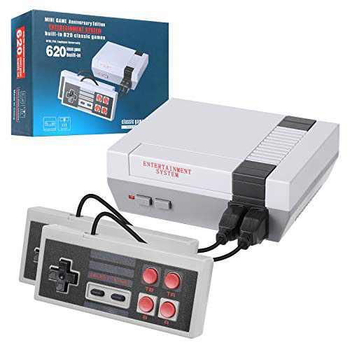LIFTREN Plug & Play Classic Handheld Game Console,Classic Game Console Built-in 620 Game Handheld Game Console, Video Game Player Console for Family TV Video-02