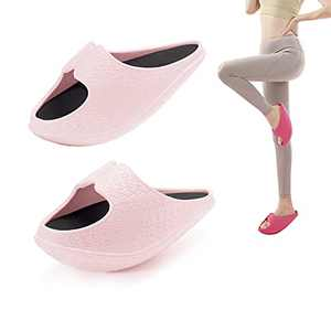 WHITIN Women's Balance Leg Slimmer Exercise Home Gym Slippers Fitness Workout Equipment Trainers Strength Training Machines Thin Butt Master Toner Indoor Pink