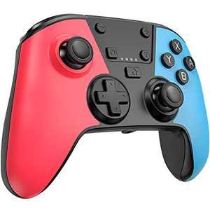 [Newest Version] Switch Pro Controller for Switch, FOCOLABU Wireless Controller Remote Gamepad Joystick for Switch Console with Turbo Function, Double Vibration and Gyro Axis