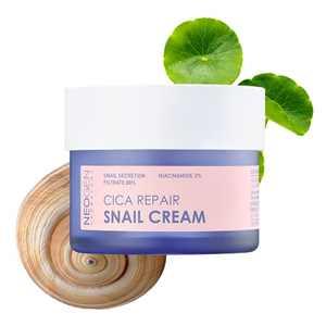 DERMALOGY by NEOGENLAB Snail Cica Repair Cream 1.76 oz / 50g I 88% Snail Mucin I Korean Skin Care