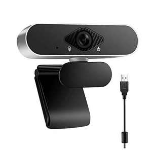 Webcam with Microphone,HP 1080P Webcam with Auto Light Correction for Desktop Laptop Computer,USB Plug and Play,Pro Streaming Webcam for Recording, Calling, Conferencing, Gaming