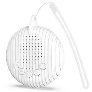 ZREE White Noise Machine for Sleeping Baby Portable with 10 Soothing Nature Sounds Lullaby Noise Maker Therapy Sleep Easy Adults Travel Sound Machine for Travel Home Rechargeable with 3 Timer