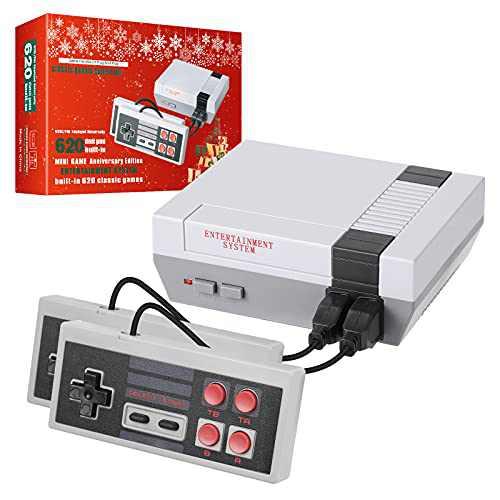 LIFTREN Plug & Play Classic Handheld Game Console,Classic Game Console Built-in 620 Game Handheld Game Console, Video Game Player Console for Family TV Video-04